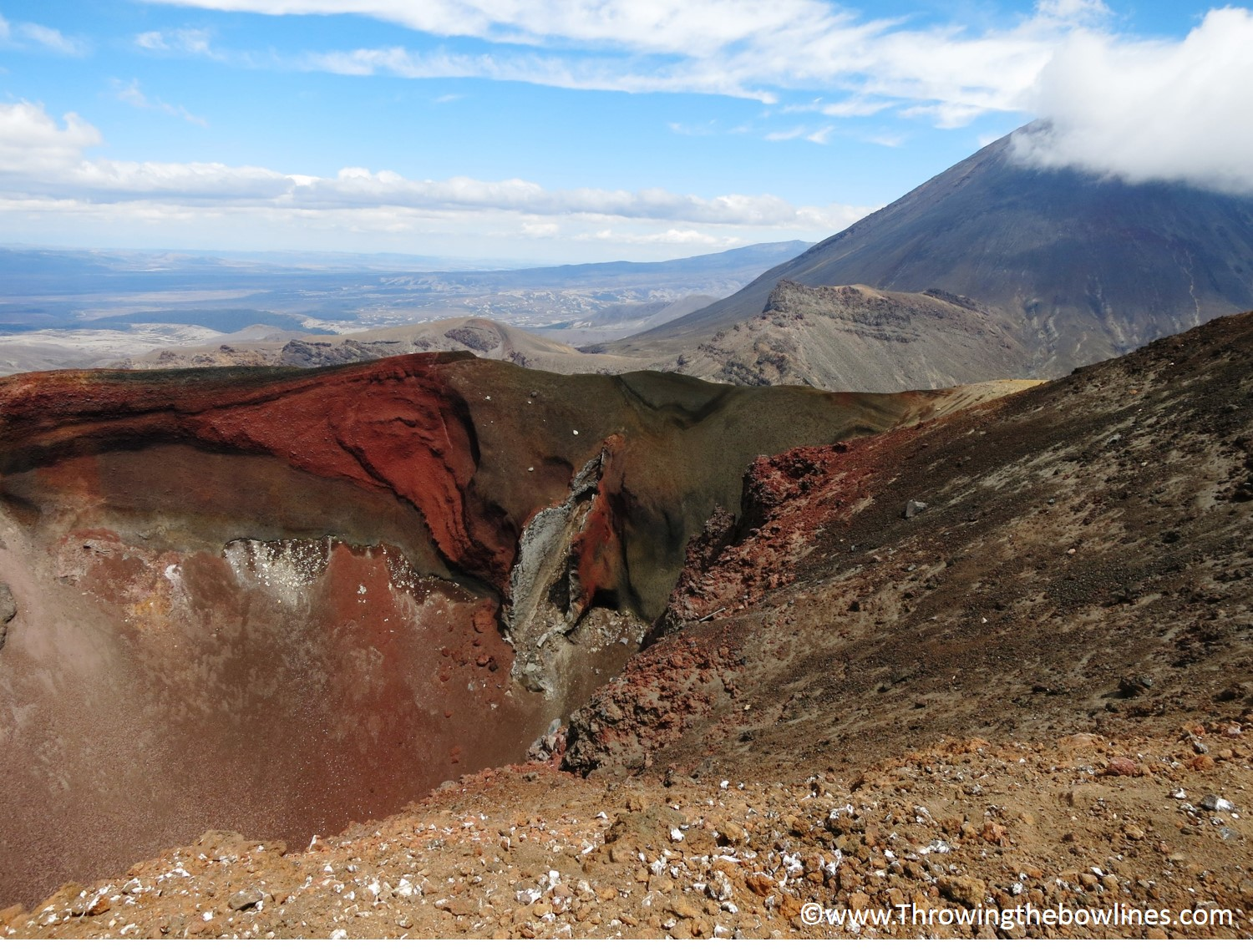 Red Crater with Mt. Doom
